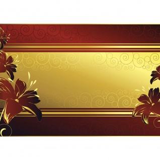 Fototapete Ornamente Tapete Blume Abstrakt gold   no. 1229