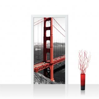 Türtapete - Golden Gate Bridge Wasser | no. 429
