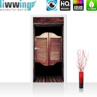 Türtapete - Sonstiges Tür Holz Saloon Schwingtür Alt   no. 4278 - Vorschau 2