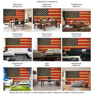 liwwing Vlies Fototapete 312x219cm PREMIUM PLUS Wand Foto Tapete Wand Bild Vliestapete - Texturen Tapete Star Spangled Banner Flagge USA Amerika bunt - no. 3451 - Vorschau 5