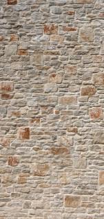 Türtapete - Royal Stone Wall Steinwand Steine Wand Wall 3D Effekt alte Mauer | no. 82 - Vorschau 5