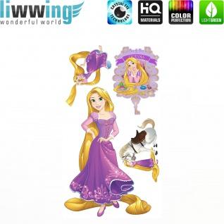 Wandsticker Disney Princesses - No. 4684 Wandtattoo Sticker Kinder Schneewitchen Arielle Cinderella Dornröschen