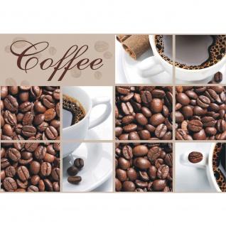Fototapete Kaffee Tapete Coffee Bohnen Tasse Braun beige | no. 297