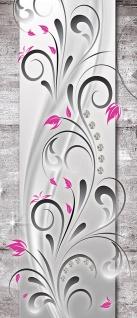 Türtapete - Blumen Abstrakt Diamant | no. 954 - Vorschau 5
