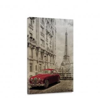 Leinwandbild Auto Oldtimer Paris Frankreich | no. 5725