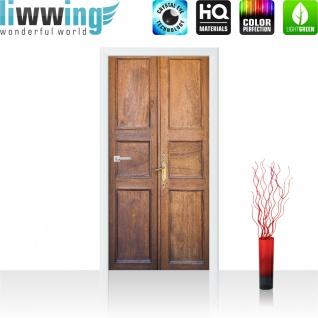Türtapete - Sonstiges Tür Holz Alt Antik | no. 4272 - Vorschau 2