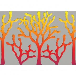 Fototapete Kunst Tapete Abstrakt Bäume Linien grau   no. 1689
