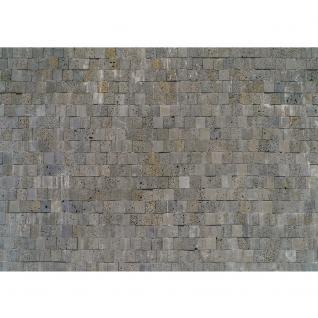 liwwing Vlies Fototapete 200x140 cm PREMIUM PLUS Wand Foto Tapete Wand Bild Vliestapete - Steinwand Tapete Steinmauer Steinwand Steinoptik grau - no. 696 - Vorschau 2