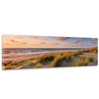 Leinwandbild Strand Düne Sonnenuntergang Beach Sand   no. 245