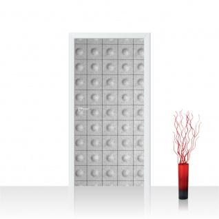 Türtapete - Abstrakt Muster Rechteck Platten | no. 763 - Vorschau 1