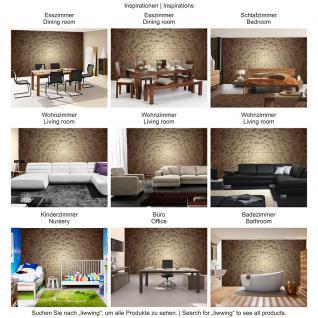 liwwing Vlies Fototapete 312x219cm PREMIUM PLUS Wand Foto Tapete Wand Bild Vliestapete - 3D Tapete Formen Vierecke sepia - no. 1339 - Vorschau 5
