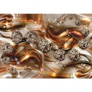Fototapete Ornamente Tapete Diamanten, Brillanten, Sterne gold   no. 3369