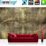 liwwing Vlies Fototapete 312x219cm PREMIUM PLUS Wand Foto Tapete Wand Bild Vliestapete - Strand Tapete Steg Wasser Meer Sand schwarz weiß - no. 1520