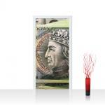 Türtapete - Geld Geldscheine   no. 1047