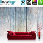 liwwing Fototapete 254x184cm PREMIUM Wand Foto Tapete Wand Bild Papiertapete - Holz Tapete Holzwand Bretterwand Vintage antik natural - no. 3442