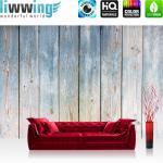 liwwing Vlies Fototapete 152.5x104cm PREMIUM PLUS Wand Foto Tapete Wand Bild Vliestapete - Holz Tapete Holzwand Bretterwand Vintage antik natural - no. 3442