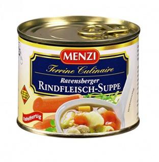 Menzi Ravensburger Rindfleischsuppe 212ml