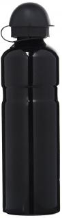 Trinkflasche Alu 750ccm schwarz