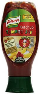Knorr Ketchup Tomato Joe, 8er Pack (8 x 430 ml)