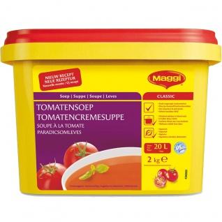 Maggi Classic Tomaten Creme Suppe Großpackung für Gastro 2000g