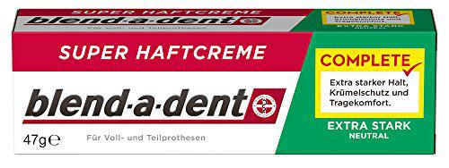 Blend-a-dent Super-Haftcreme extra stark -neutral-, 3er Pack (3 x 47 g)