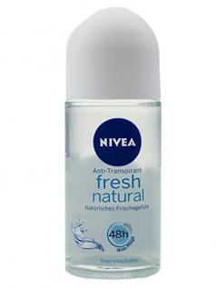 Nivea Fresh Natural Anti-Transpirant Deo Roll-on 2er Pack (2 x 50 ml)