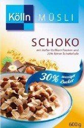 Kölln Müsli Schoko 30 Prozent weniger Zucker Hafer Vollkornmüsli 2000g