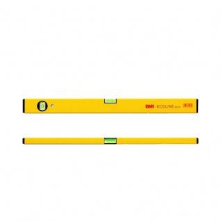 Wasserwaage Construct Länge 180cm Aluminium gelb Messgenauigkeit 1mm/m von BMI