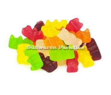 Fruchtgummi Bären ohne Gelatine ohne Farbstoffe Laktosefrei 1000g