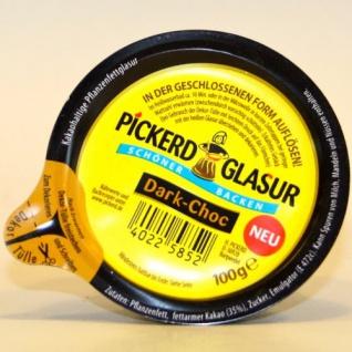 Pickerd Dekor, Pickerd Glasur Dark Choc 100g