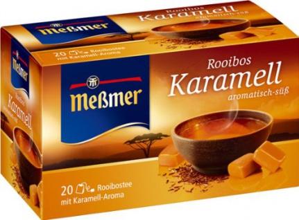 Meßmer Rooibos Tee Karamell aromatisch süßlicher Genuss 5er Pack