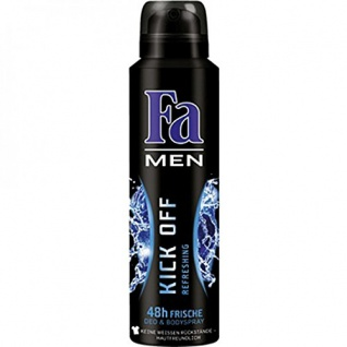 Fa Deospray For Men Kick Off 48h aquatisch frischer Duft 150ml