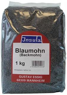 Blaumohn von Insula Mohn geeignet zum Backen und Kochen 1000g