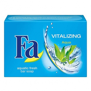 Fa Seife Vitalizing aquatischer frischer Duft pflegende Festseife 100g
