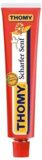 Thomy Scharfer Senf, 100 ml Tube - extra würzig - pikant, Güteklasse A