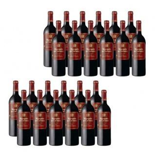 Bodegas Marqués de Cáceres Rioja Crianza Spanischer Rotwein 18000ml, 24er Pack
