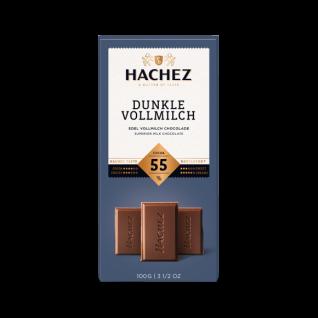 Hachez Schokolade Dunkle Vollmilch 100g