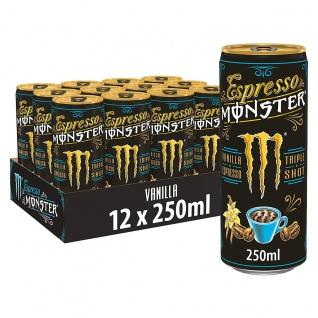 Monster Espresso Vanille Triple Shot pfandfrei 250ml 12er Pack