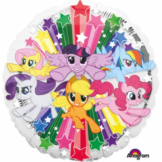 My Little Pony Gruppe Folienballon
