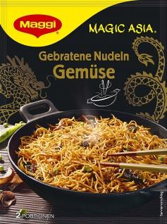 Maggi Magic Asia Gebratene Nudeln