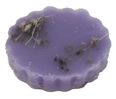 Duftwachs Lavendel Duft und Lavendelstückchen im Wachs 1 Stück