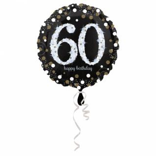 Birthday 60 Folienballon