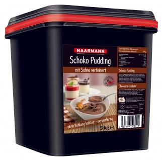 Naarmann Schoko Pudding mit Sahne verfeinert servierfertig 5000g