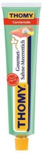 Thomy Gourmet Sahne-Meerrettich, mild, 190 g Glas