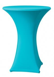 Dena Stehtischhusse Farbe blau schnelle und einfache Montage 80-85cm