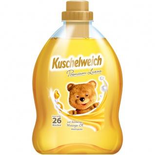 Kuschelweich Premium Weichspüler Luxus mit Moringa Öl 26 WL 750ml