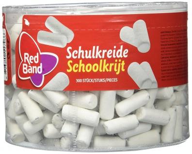 Red Band Schulkreide 300 dragierte Lakritz Kreide Stäbchen 1000g
