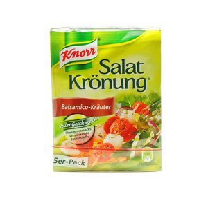 Knorr Salatkrönung Balsamico Kräuter Salatdressing 10g 5 Stück - Vorschau