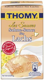 Thomy Les Sauces Lachs Sahne Sauce, 250 ml
