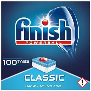 Finish Classic Megapack Spülmaschinentabs Powerball 100 Tabs